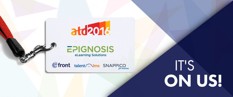 ATD 2016 Free Pass with eFront and Epignosis