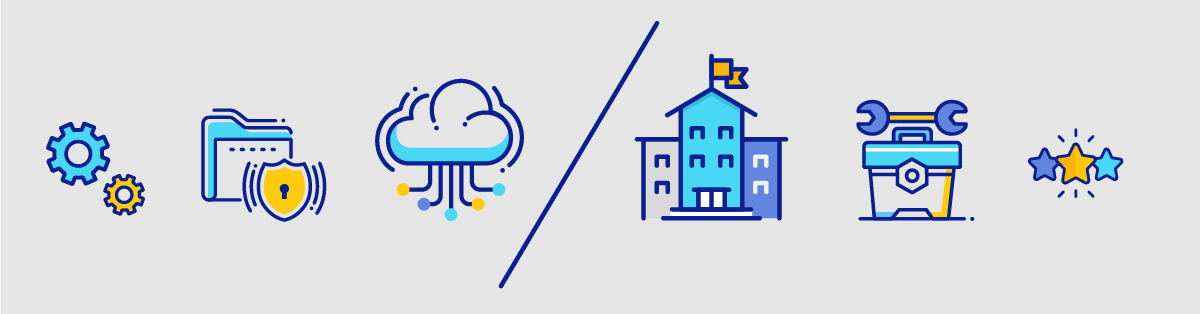 Private Cloud vs On-premise comparison: what to choose for your LMS