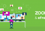 The benefits of using eFront's integration with Zoom