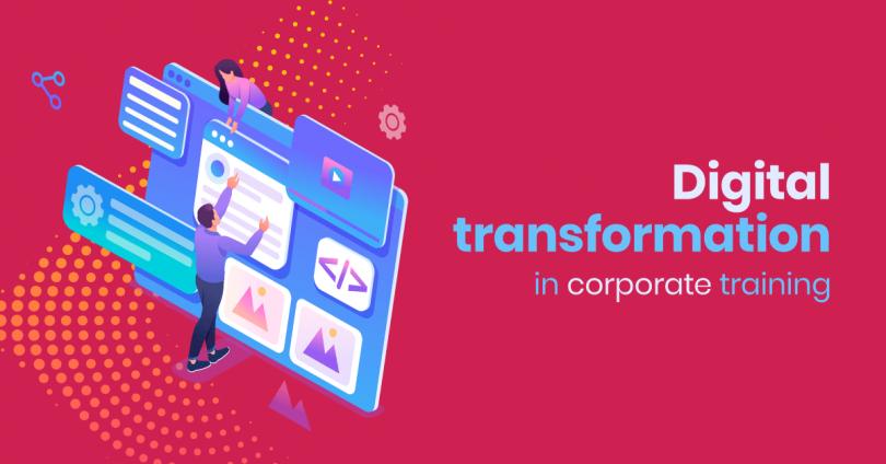 Digital transformation in corporate training