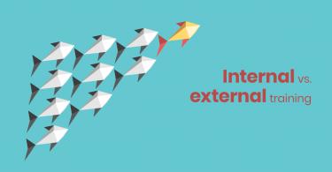 Internal training vs. external training